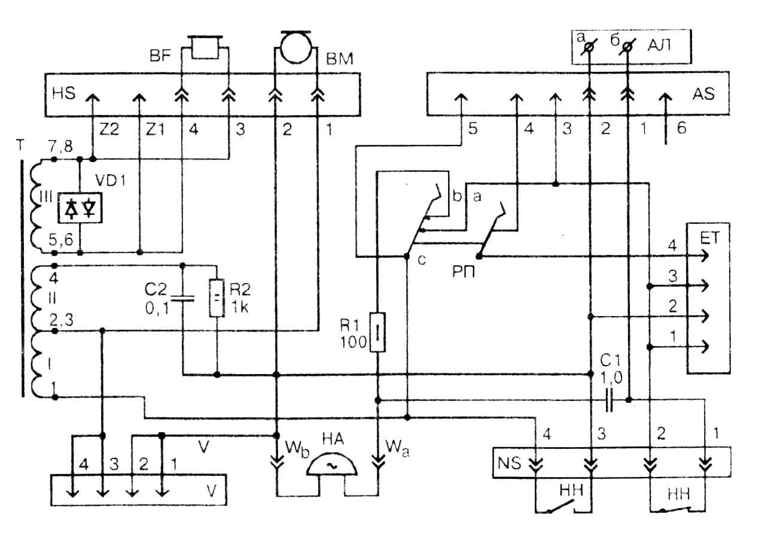 дисковый номеронабиратель схема подключения
